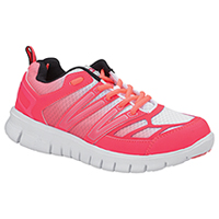 Cherokee Workwear Mesh/Synthetic Athletic Footwear Pink Fade (FRAN-PNFD)