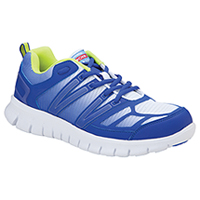 Cherokee Workwear Mesh/Leather Athletic Footwear Royal Fade (FRED-ROFD)