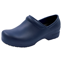 Anywear Footwear SR Antimicrobial Plastic Stepin Navy (GUARDIANANGEL-NVY)