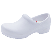 Anywear Footwear SR Antimicrobial Plastic Stepin White (GUARDIANANGEL-WHT)