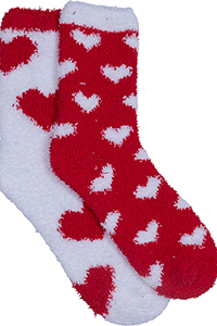 Cherokee Socks and Hoisery HEARTBEAT (HEARTBEAT-RDWH) (HEARTBEAT-RDWH)