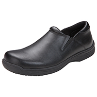 Cherokee Slip Resistant Mens Step In Footwear Black Wide (JACKSON-BLZ)