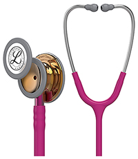 Littmann Classic III High Polish Copper Stethosco Raspberry (L5647HPCP-RAS)