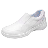 Cherokee Leather Twin Gore Step In Footwear White (MAMBO-WHT)