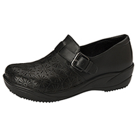 Anywear Footwear Leather Step In Black (MARYANN-BLK)