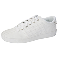 K-Swiss Leather Athletic White (MCMFIICOURTPRO-WHT)