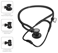 MDF MDF Sprague-X Stethoscope BlackOut (All Black) (MDF767X-BO)