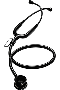 MDF MDF MD One > Pediatric Stethoscope BlackOut (All Black) (MDF777C-BO)