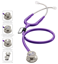 MDF MDF MD One Epoch Titanium Stethoscope Purple Rain (MDF777DT-8)