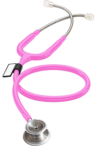 MDF MD One Stainless Steel Stethoscope ThinkPink (Fuschia) (MDF777-32)