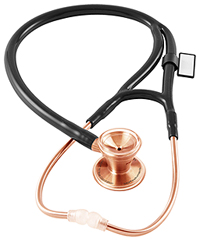 MDF MDF ProCardial CORE Stethoscope Rose Gold / Black (MDF797-RG11)