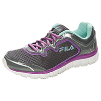 Fila USA SR Mesh/Overlay Athletic Castlerock/Purple/Cockatoo (MEMORYFRESH-F099)