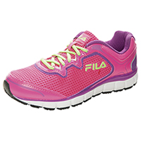 Fila USA SR Mesh/Overlay Athletic KnockoutPink/PurpleCactus/Wht (MEMORYFRESH-F667)