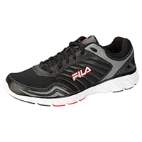 Fila USA Athletic Footwear Black/MetallicSilver/FilaRed (MGAMBLE-F005)