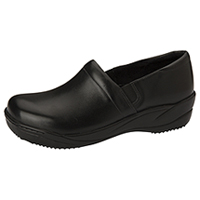 Anywear Footwear Leather Step In Black (MILEY-BLK)