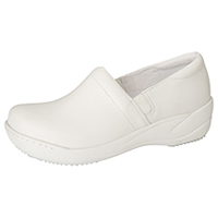 Anywear Footwear Leather Step In White (MILEY-WHT)