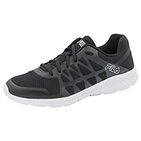 Fila USA Footwear - Athletic Black,Black,MetallicSilver (MMEMORYFINITY-F010)