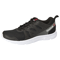 Reebok Athletic Footwear Black/White/Alloy (MRUNSUPREME2-BWA)