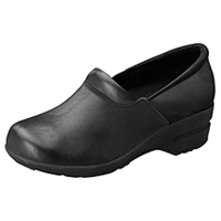Cherokee SR Fashion Leather Step In Footwear Black (PATRICIA-BLK)