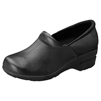 Cherokee SR Fashion Leather Step In Footwear Black Wide (PATRICIA-BLZ)