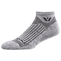 Swiftwick 1 Pair Pack No Show Sock Heather (PURSUITZERO-05Z)