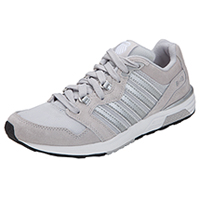 K-Swiss Leather, Mesh Athletic Footwear Grey (RANNELL2-GRY)