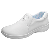 Cherokee Leather Slip Resistant Footwear White (ROBINSR-WHZ)