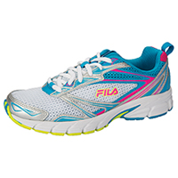 Fila USA Athletic Footwear White/Silver/AtomicBlue/PinkGl (ROYALTY-F25)