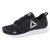 Reebok Athletic Footwear Bkack,Coal,SilverMet,White (RUNSUPREME-BCSW)
