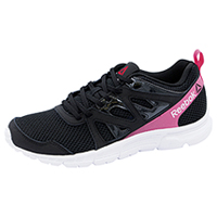 Reebok Athletic Footwear Black/SolarPink (RUNSUPREME-BSPK)