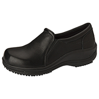 Anywear Footwear - Leather Slip On Black (SAVVY-BLK)