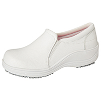Anywear Footwear - Leather Slip On White (SAVVY-WHT)
