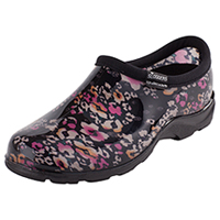 Sloggers Synthetic Clog Floral Cheetah (SL5100-FLCE)