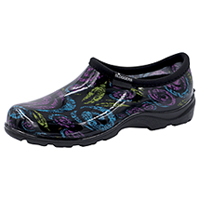 Sloggers Synthetic Clog Floral Swirls Black (SL5100-FSBK)