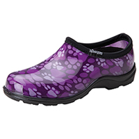 Sloggers Synthetic Clog Purple Paw (SL5100-QP)