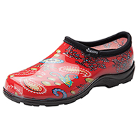 Sloggers Synthetic Clog Red Paisley (SL5100-RDD)
