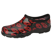 Sloggers Synthetic Clog Red Poppies (SL5100-RPP)