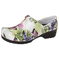 Anywear Closed Back Plastic Clog Botanical Bliss (SRANGEL-BBLS)