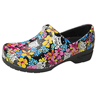 Anywear Closed Back Plastic Clog Fine Feathered Friends (SRANGEL-FIFF)