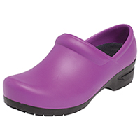 Anywear Closed Back Plastic Clog Plum Candy (SRANGEL-PLUB)
