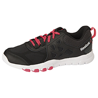 Reebok Athletic Footwear Black/Gravel/SolarPink/White (SUBLITETRAIN-BGPW)