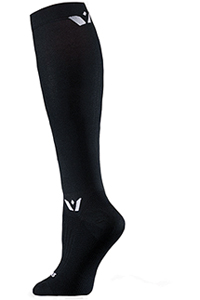 Swiftwick 1 Pair Pack Knee High Sock Black (SUSTAINTWELVE-01Z)