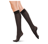 Therafirm 20-30 mmHg Knee High Closed Toe Black (TF172-BLK)