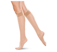 Therafirm 20-30 mmHg Knee High Closed Toe NATURAL (TF172-NAT)