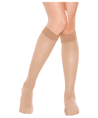 Therafirm 10-15 mmHg Knee-High Stocking NATURAL (TF330-NAT)