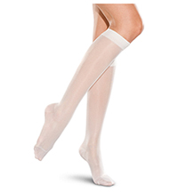 Therafirm 10-15 mmHg Knee-High Stocking White (TF330-WHT)