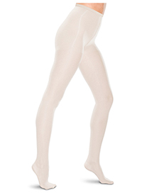 Therafirm 15-20 mmHg Pantyhose White (TF680-WHT)