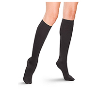 Therafirm 15-20 mmHg Womens Trouser Sock Black (TF685-BLK)