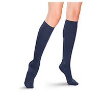 Therafirm 15-20 mmHg Womens Trouser Sock Navy (TF685-NVY)