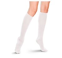 Therafirm 15-20 mmHg Womens Trouser Sock White (TF685-WHT)